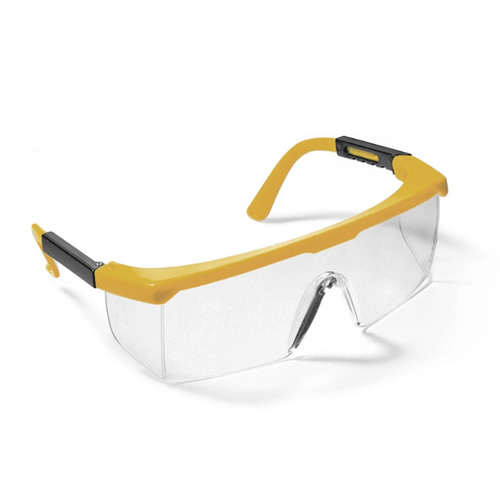 Series 46 Safety Eyewear - Yellow Frame / Hard Coated Clear Lens - ES-46YC