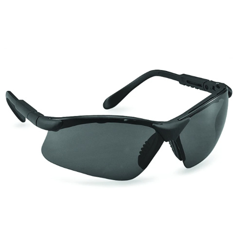 Genex Safety Eyewear - Black Frame / Smoke Lens - Genex-BS