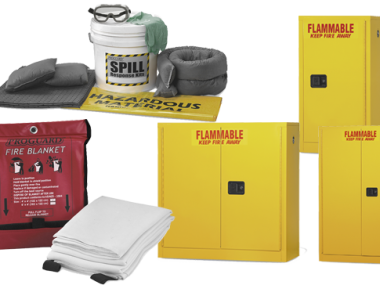 Safety Cans, Cabinets, Spill Control & Safety Products