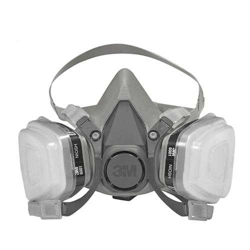 3M Half Facepiece Respirators - 3M-6200