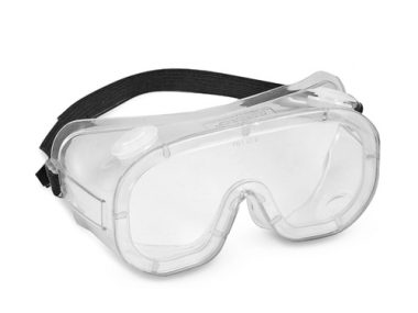 Safety Chemical Goggle - Crystal Blue Frame / Clear Lens - CLASSIX