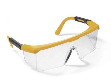 Series 46 Safety Eyewear - Yellow Frame / Hard Coated Clear Lens - ES-46YC