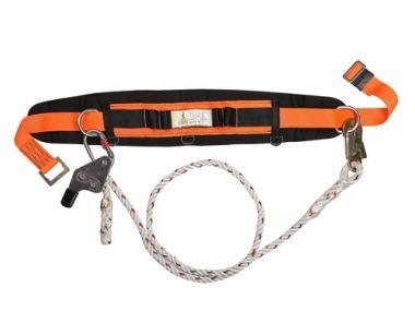 Work Positioning Belt - PG141059-S-PRO (Orange / Black)