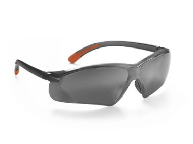 Serpent Safety Eyewear - Fully Polycarbonate / Smoke Silver Mirror Lens - Serpent-SSM