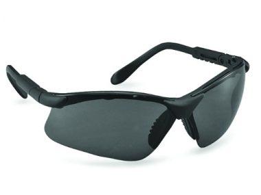 Genex Safety Eyewear - Black Frame / Smoke Lens - Genex-BS