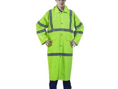 Hi-Visibility Green Rain Coat - RRC9000FG