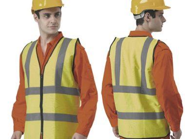 High Visibility Safety Vest - TC-VH4-FRM