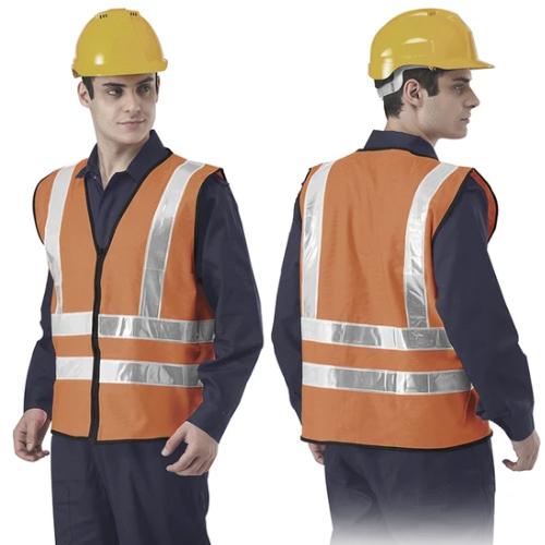 High Visibility Safety Vest - TCOR-VH4-HG