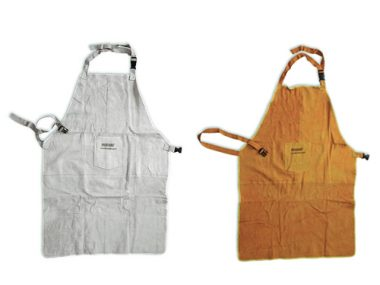 Leather Protective Apron - WPG218GR / WPG218YLW