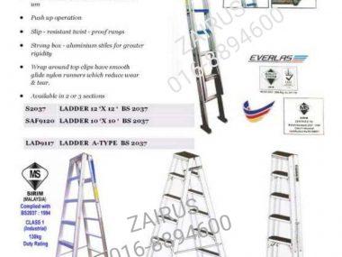 Ladder 12 x 12 Step | Zairus Tech (M)